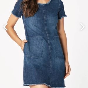 JustFab Denim Dress